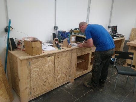 Bluelab-comptoir à outils